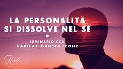 La personalità si dissolve nel sé