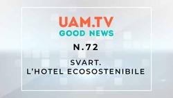 Good News - N.72 - Svart - L'hotel ecosostenibile